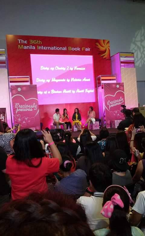 Launching of Diary Of A Broken Heart at the MIBF 2015